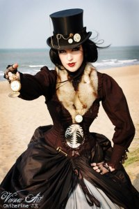 Badass Steampunk Lady