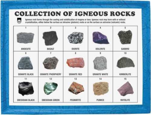 collection-of-igneous-rocks